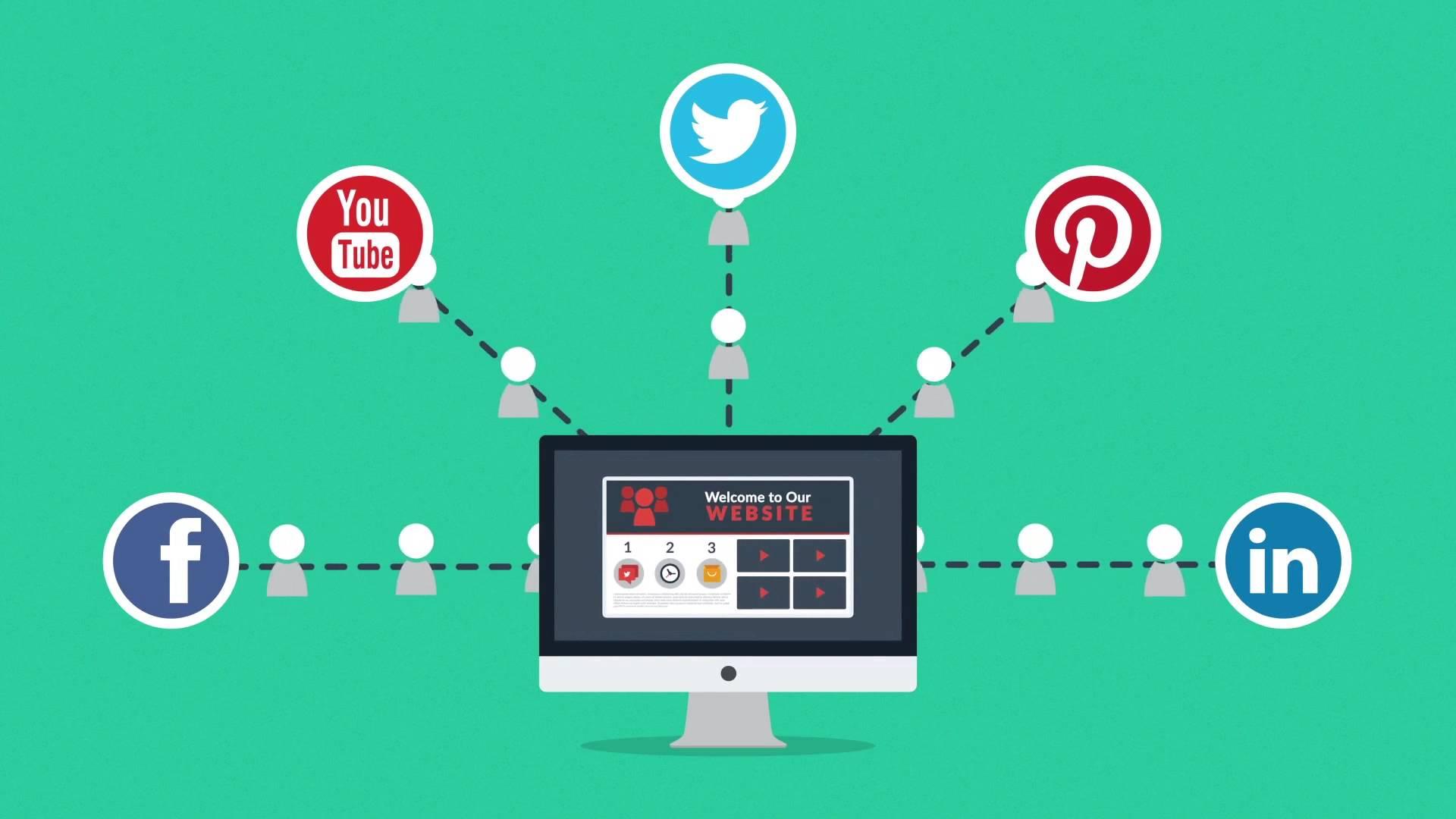 Social traffic biểu thị số lượt truy cập của người dùng vào một website thông qua đường dẫn trên các trang mạng xã hội